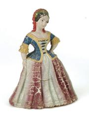 The best of the best rubber toys would include this Goodyear rubber Jenny Lind squeak toy made about 1860, when Jenny Lind was a world-famous singer. It sold at a Noel Barrett auction in Carversville, Pa., for $495.