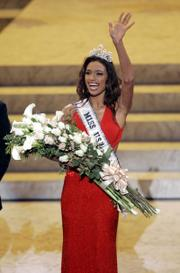 Rachel Renee Smith won the Miss USA 2007 pageant on Friday in Los Angeles.