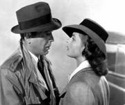 "Actor Humphrey Bogart and Swedish-born actress Ingrid Bergman are shown in a scene from the 1943 classic film ""Casablanca."" Bergman is the subject of the new biography, ""Ingrid,"" by Charlotte Chandler. The book reveals that neither actor originally wanted to star in the now legendary film."