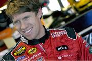 Carl Edwards is ninth in the Nextel Cup standings, but leads the  Busch Series by a 321-point margin.