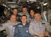 Charles Simonyi, front row center, is a recent client of Space Adventures. He was aboard the international space station April 12.