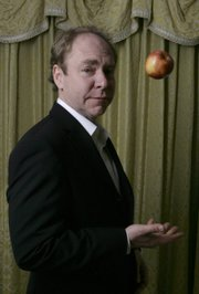 "Teller, the quiet half of the Penn and Teller magician team, is shown at the Four Seasons hotel in Los Angeles. Teller is back on Showtime with his partner for another season of their show, which takes a skeptical look at any subject that catches their eye. The show ""Penn & Teller: (Expletive!)"" airs at 9 p.m. Thursday on Sunflower Broadband Channels 421."