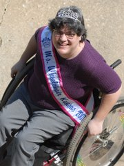 Lorraine Cannistra, Ms. Wheelchair Kansas, has set a fundraiser Saturday to raise money so she can compete in the Ms. Wheelchair America competition.