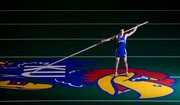 Kansas University freshman Jordan Scott won the Big 12 indoor and outdoor pole vault championships this season. He'll compete in the NCAA Midwest Regional today in Des Moines, Iowa, and needs a top-five finish to assure himself a place at nationals.