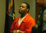 Rashawn Anderson, 20, of Topeka, was sentenced to just more than 15 and a half years Friday for second-degree murder and aggravated battery in a February 2006 incident at the Granada in downtown Lawrence.