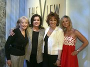 "Rosie O&squot;Donnell, second from left, won&squot;t be back on ""The View"" after seeking an early release from her contract. She&squot;s shown here with co-hosts, from left, Barbara Walters, Joy Behar and Elisabeth Hasselbeck."