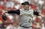 Pittsburgh's Tom Gorzelanny pitches against St. Louis last week. Gorzelanny was drafted in the second round in 2003 after being chosen in the 38th round in 2000.