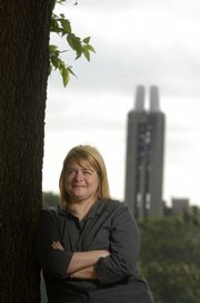 As Kansas University's ombudsman, Kellie Harmon is responsible for ensuring members of the university receive fair and equitable treatment. KU's ombudsman office, which was created in 1977, is a resource for university members for matters ranging from conflicts with supervisors and instructors to policy consultation and bullying.