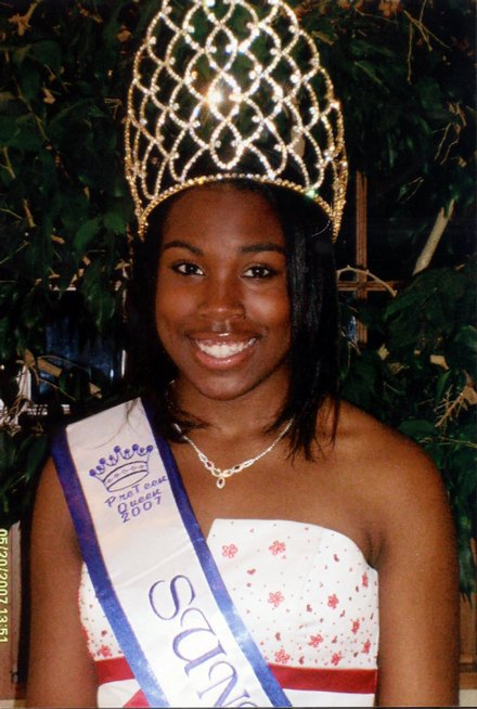 ... a freshman at West Junior High School, is crowned Miss Pre-Teen Queen at ...