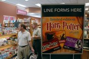 The release of J.K. Rowling's final volume in the Harry Potter series has Borders, 700 N.H., preparing for a major rush when the books go on sale at 12:01 a.m. Saturday.