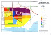Southeast Area Draft Land Use plan.