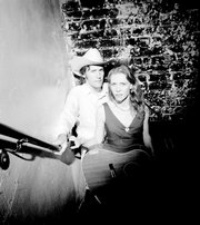 David Rawlings, left, and Gillian Welch return to perform Saturday in Lawrence.