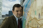 "Rowan Atkinson portrays the walking, seldom-talking catastrophe in tweed, Mr. Bean, in the comedy ""Mr. Bean&squot;s Holiday."""