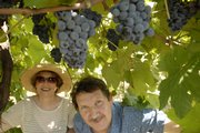 Kay and Tony Kugler, both political refugees from the Czech Republic, own Kugler's Vineyard south of Lawrence.