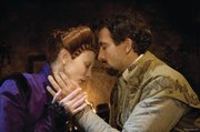 "Cate Blanchett, left, and Clive Owen star as historical lovers in ""Elizabeth: The Golden Age."""