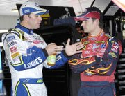 Only 68 points separate second-place Jimmie Johnson, left, from Jeff Gordon, right, in the Chase standings.