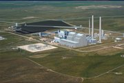 Sunflower Electric Power Corp. and its partners plan to construct two 700-megawatt coal-burning electric power plants near Sunflower's current 360-megawatt facility near Holcomb, shown in this rendering. Developers of the proposed plants said Tuesday that if the Legislature doesn't approve the project by June 1, it may not go forward.