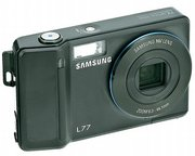 The Samsung L77 is a Consumer Reports' Best Buy, with 7-megapixel resolution, an electronic image stabilizer and a nonprotruding 7x optical zoom - rare in a camera less than an inch thick.