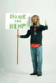'Honk For Hemp Guy'