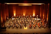 The Kansas City Symphony will give a benefit concert for music education in Lawrence Public Schools at 7 p.m. Tuesday at the Lied Center. The performance is part of the group's Support School Music program and will feature well-known works by Mendelssohn, Rossini, Verdi and others.