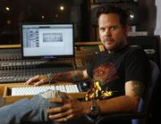 "Country musician Gary Allan is photographed at Love Shack studios in Nashville, Tenn. He recently released a new album, ""Living Hard."""