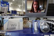 A Nintendo Wii game console and accessories are seen on display at Best Buy in Mountain View, Calif. When Christmas shopping begins in earnest, the consoles are expected to quickly disappear from store shelves.