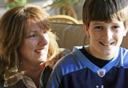Susan Cole and her 12-year-old son Danny ran into problems at a Maryland airport when they were told by a Southwest Airlines agent that Danny would be treated as an adult and not given any special attention during a flight by himself to Texas.