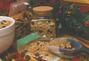 Homemade granola is simple to make and can be packaged for gifts in large canning jars or decorated cellophane bags.