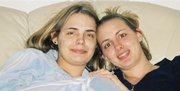 An undated photo provided by her family shows Stacy Peterson, 23, right, of Bolingbrook, Ill., with her younger sister, Cassandra Cales. Peterson, the wife of Drew Peterson, a sergeant with the Bolingbrook Police Department, was reported missing Oct. 29. Some residents of Bolingbrook are questioning why Peterson was never charged after police were called to his home 18 times in two years for domestic disturbances.