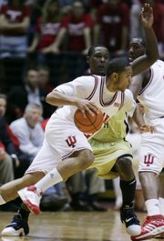 Freshman phenom Eric Gordon from Indiana has made his presence felt already this season.