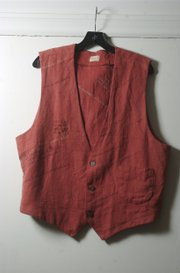 This vest is made of hemp by Wichita designer Debby Moore.