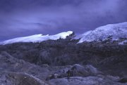 This photo taken and provided by Australian scientist Ian Allison on a January 1973 expedition shows a view of the North Wall Firn, one of the Mount Jaya glaciers in the Indonesian half of New Guinea. The rare tropical ice masses are shrinking, apparently because of global warming. U.S. glaciologist Lonnie Thompson plans an expedition there to drill for ice cores and clues to climate change.