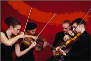 The Chiara String quartet will perform at 7:30 p.m. Jan. 26 at the Lied Center. Call 864-2787 for more information.