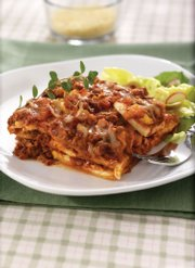 "This lamb lasagna, a recipe by Tonganoxie resident Shari Paynter, is featured in the regional ""Wal-Mart Family Cookbook."""
