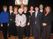 Members of the 2008 Board of Directors for the Lawrence Board of Realtors are, from left, Bev Hill, treasurer; Oliver Minnis; Sandy Garber; Mary Jones, past president; Thomas Howe, president; Leslie Foust, secretary; Becky Mondi; Nicholas Lerner; Randy Barnes, president elect; and Judy Brynds.