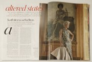In addition to giving the democratic response to President Bush's State of the Union address tonight, Gov. Kathleen Sebelius also appears in the February issue of Vogue magazine.