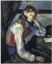 "The Paul Cezanne painting ""The Boy in the Red Vest"" was among four paintings stolen Sunday in Switzerland."