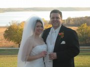 Melissa Wenger and Keith Van Horn were married Nov. 17, 2007, in Lawrence. Melissa suggests blocking hotel rooms early - especially if the wedding is the weekend of a Kansas University home football game.
