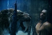 "Steven Strait befriends a saber-toothed tiger in the ancient adventure ""10,000 B.C."""