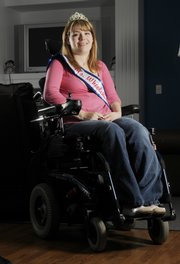Kansas University graduate Amanda Steiner, 23, was recently crowned Ms. Wheelchair Kansas.