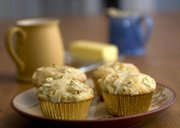 Apple Lavender Muffins offer a tasty start to any day. Fresh or dry lavender can be used for this herbal breakfast treat.