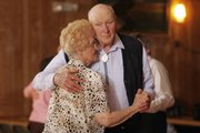 Eugene Lane and Dorothy Resco dance the night away at the Eagles Lodge, 1803 W. Sixth St. OURS has organized dances for senior citizens for more than 25 years.