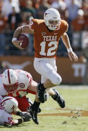 Texas quarterback Colt McCoy has Texas fans dreaming big.