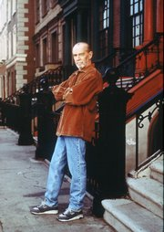 "In this 1993 image originally released by Fox Broadcasting, comedian George Carlin is shown in a promotional photo for the Fox comedy, ""The George Carlin Show."" Carlin, 71, whose staunch defense of free speech in his most famous routine ""Seven Words You Can Never Say On Television"" led to a key Supreme Court ruling on obscenity, died Sunday June 22, 2008. He went into St. John&squot;s Health Center in Santa Monica on Sunday complaining of chest pain and died later that evening, said his publicist, Jeff Abraham."