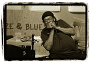 "The great blues ""harpist"" James Cotton Throws heart and soul into his harmonica. Some call it a ""harp."" Some call it a ""Mississippi saxophone."" Whatever the name, the harmonica is a basic blues instrument."