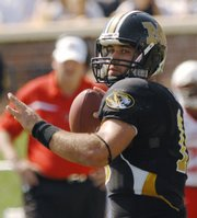 Missouri's Chase Daniel passed for 33 touchdowns and only had 11 interceptions last season. He was also a Heisman Trophy finalist.