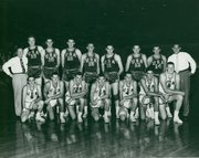 The 1952 USA basketball team defeated Russia to win the gold medal in Finland. Lawrence residents Bill Lienhard, Charlie Hoag and Bill Hougland were part of the team.