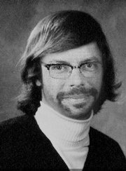 Jon Niccum tries out Yearbook Yourself (circa 1976).