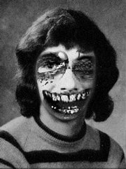 Jon Niccum combines the Zombie Face Changer with Yearbook Yourself (circa 1978).