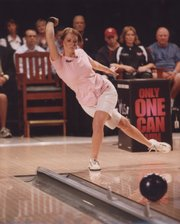 Lawrence resident and former Wichita state bowler Kristal Wilson will be featured today on ESPN in the U.S. Women's Open.